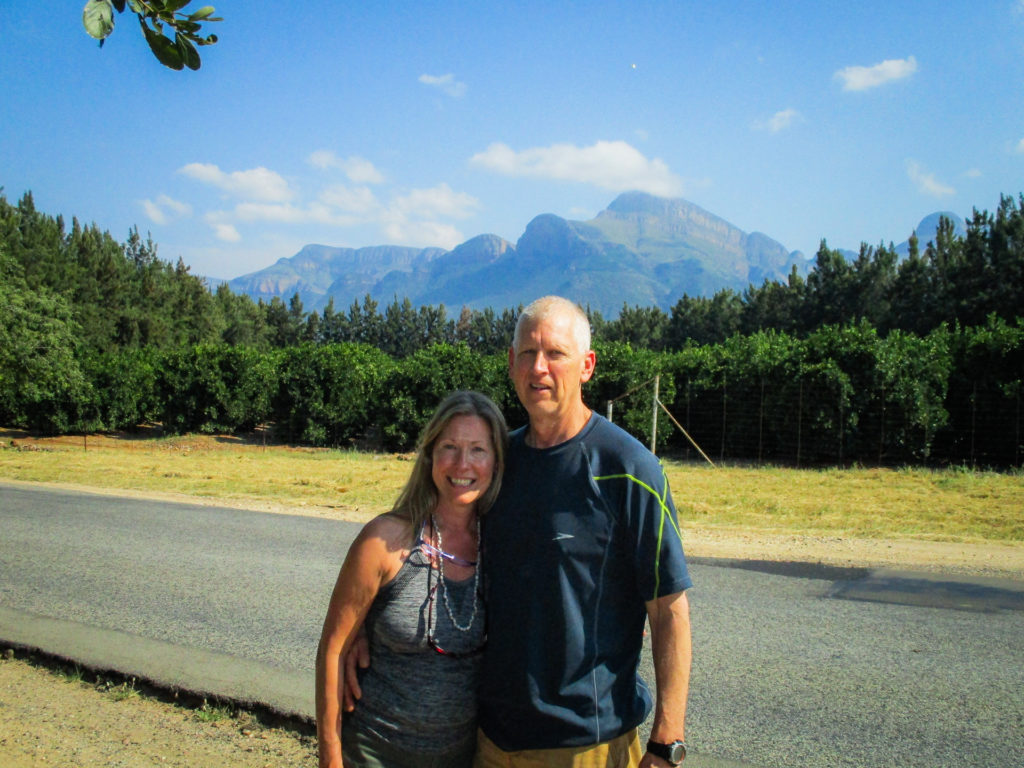 Tim and Patrice - South Africa